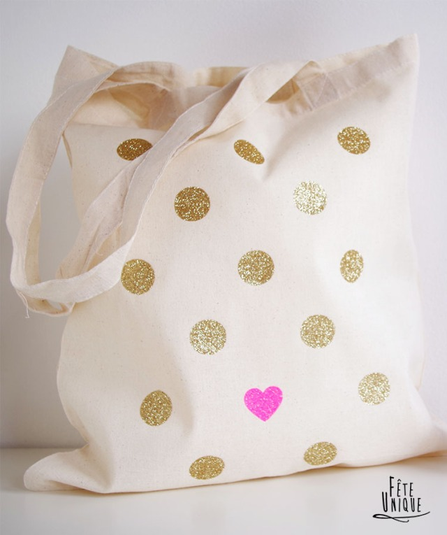 Tote Bag Paillette