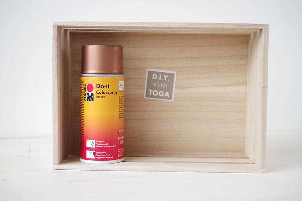 Diy mon calendrier de l 39 avent sp cial th atelier f te - Bombe peinture cuivre ...